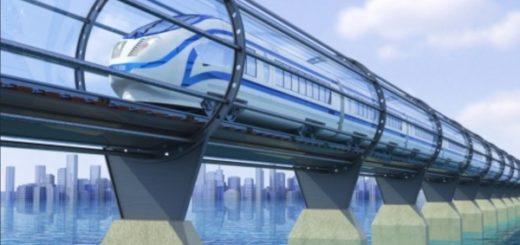 Вакуумный поезд
