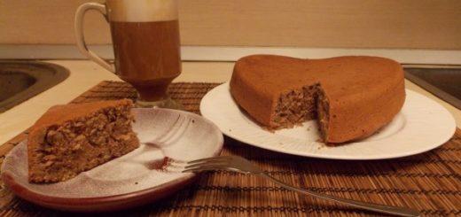 пирог с кофе