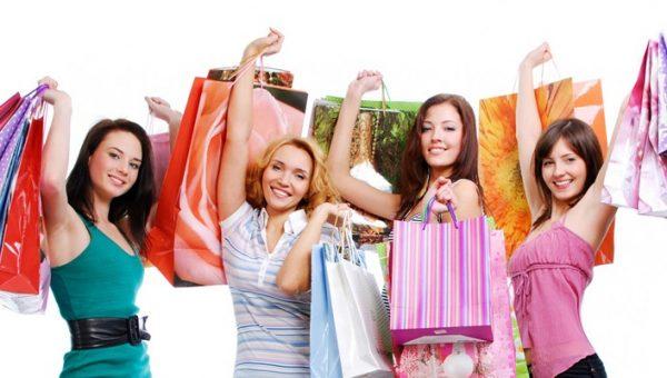 покупка одежды в магазинах