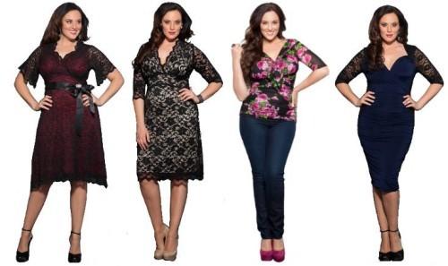 выбор одежды для полных дам