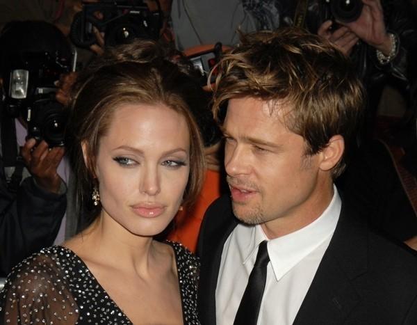 Анджелина и Брэд