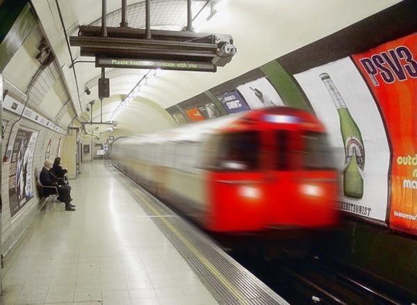 метро Лондон