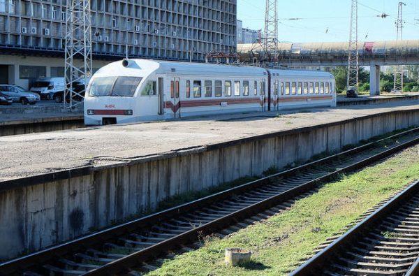 железная дорога до Кутаисского аэропорта