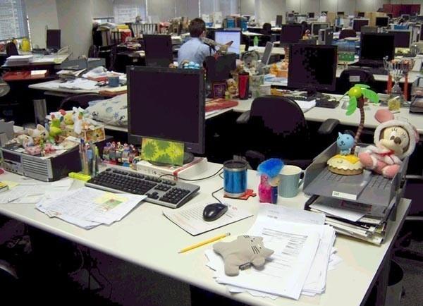 Тихий час для офисного планктона