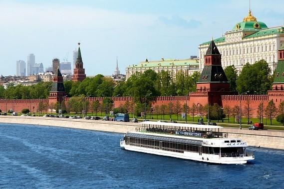 прогулки на теплоходе по Москва-реке