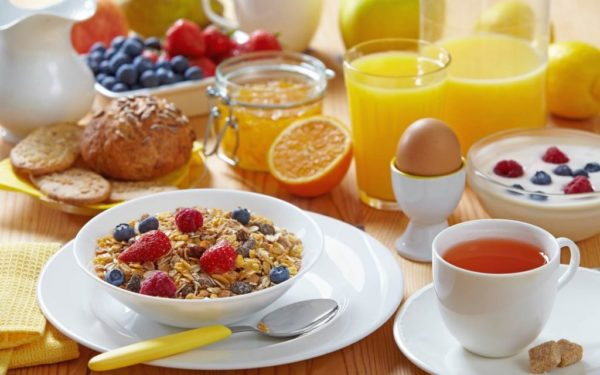 завтрак для диабетика