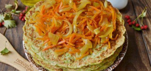 Приготовление торта из кабачков