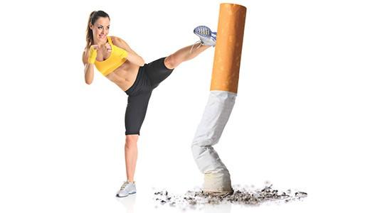 отказаться от сигарет и кальяна